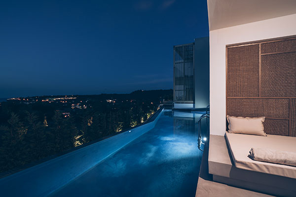 Swim Up Heated Pool Suite